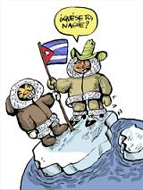 Un cubano en el Polo Norte